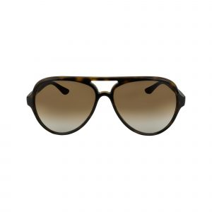 4125 Brown Glasses - Front View