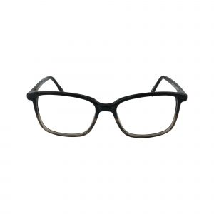 Brockton Gunmetal Glasses - Front View