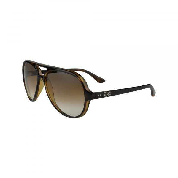 4125 Brown Glasses - Side View