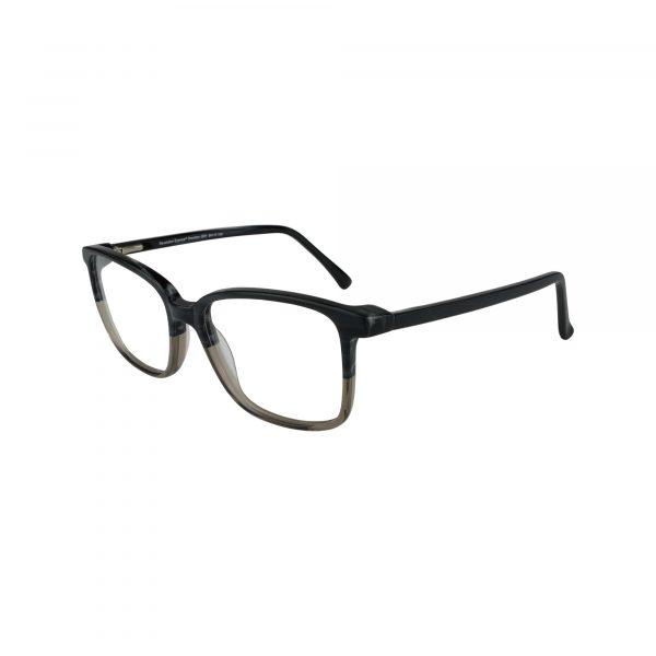 Brockton Gunmetal Glasses - Side View