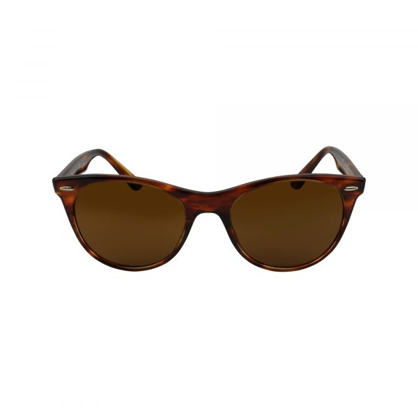 2185 Brown Glasses - Front View