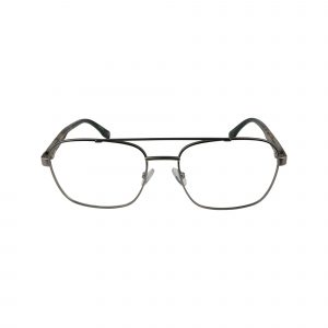 Dax Gunmetal Glasses - Front View