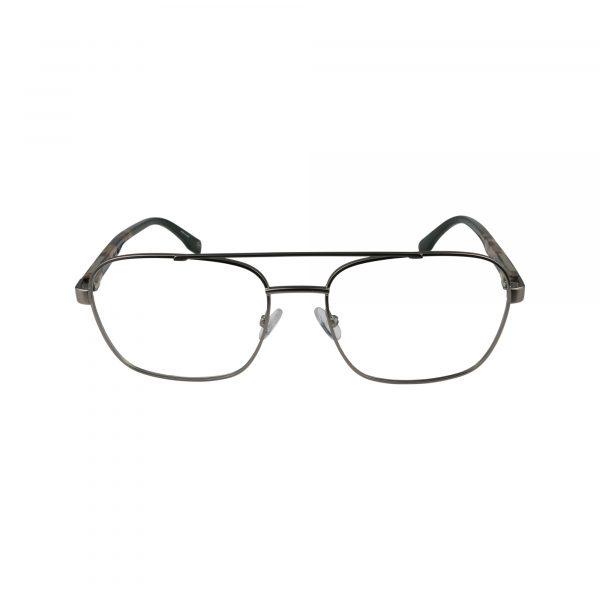 Dax Gunmetal Glasses - Front View