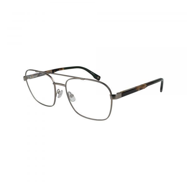 Dax Gunmetal Glasses - Side View