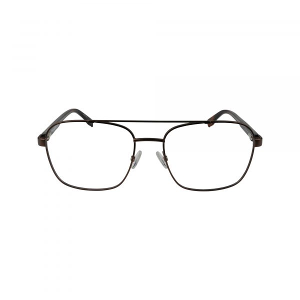 Dax Brown Glasses - Front View