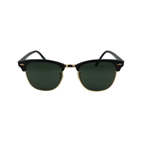 3016 Black Glasses - Front View