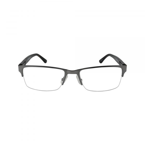226 Gunmetal Glasses - Front View