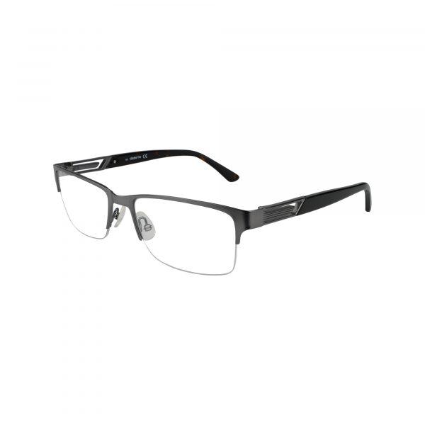 226 Gunmetal Glasses - Side View