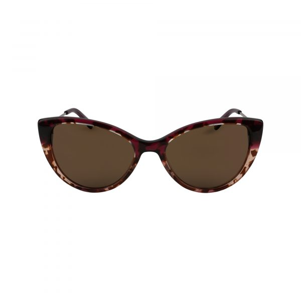 Bora Bora Red Glasses - Front View