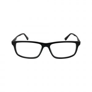 HEK 1192 Black Glasses - Front View