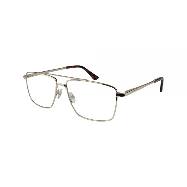 HEK 1206 Gold Glasses - Side View