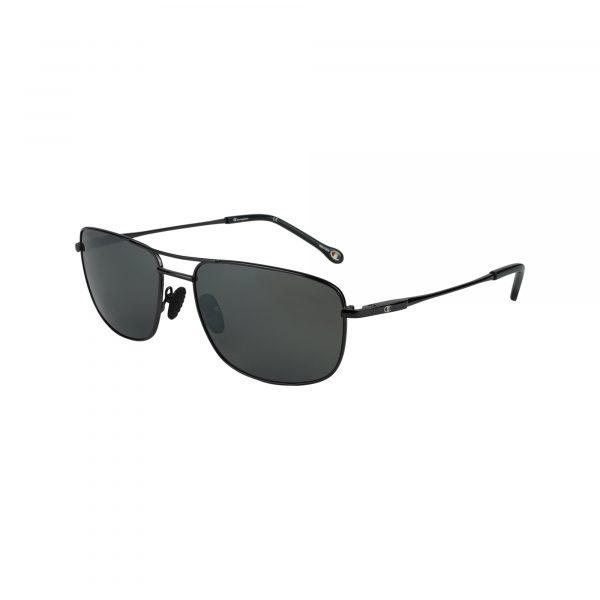 Cu6038 Gunmetal Glasses - Side View