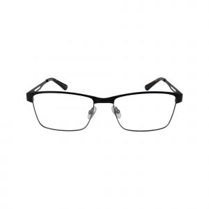 HEK 1167 Black Glasses - Front View