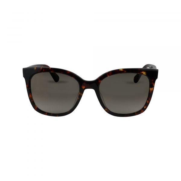 Kiya Brown Glasses - Front View