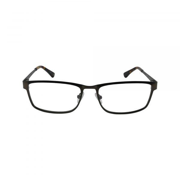 HEK 1189 Gunmetal Glasses - Front View