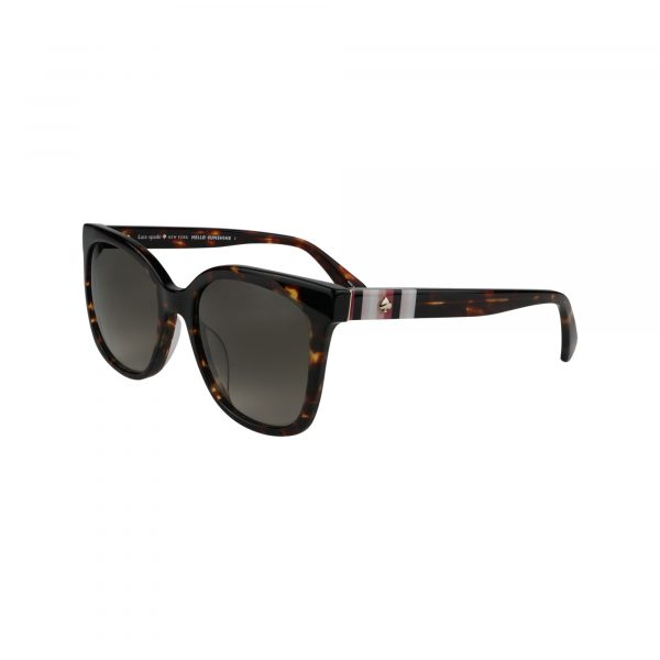 Kiya Brown Glasses - Side View