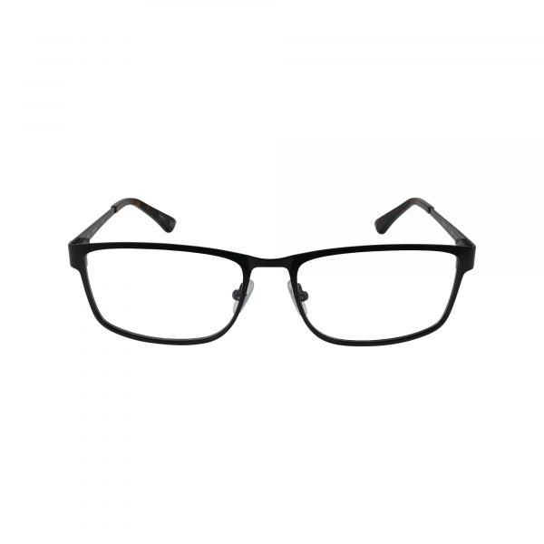 HEK 1189 Black Glasses - Front View