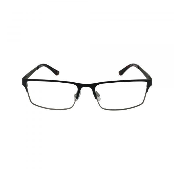 HEK 1159 Black Glasses - Front View