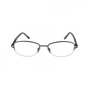 L122 Brown Glasses - Front View