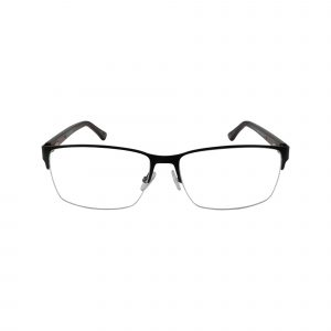 HEK 1203 Black Glasses - Front View