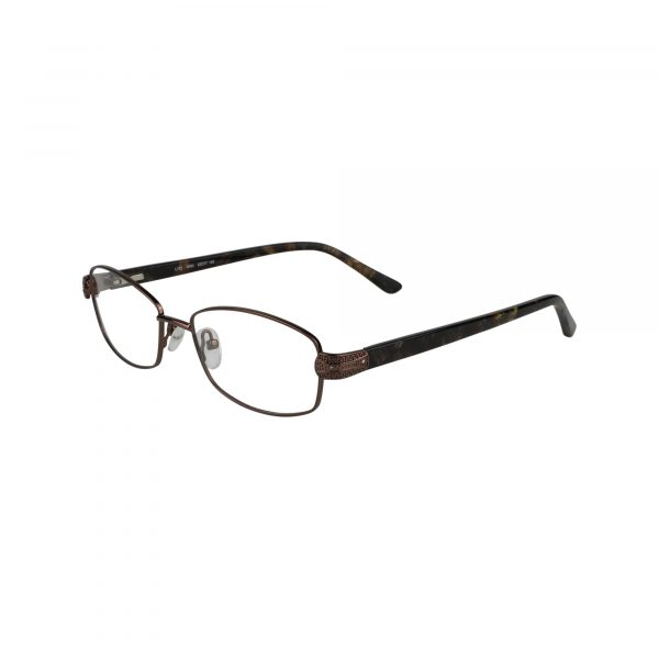 L132 Brown Glasses - Side View