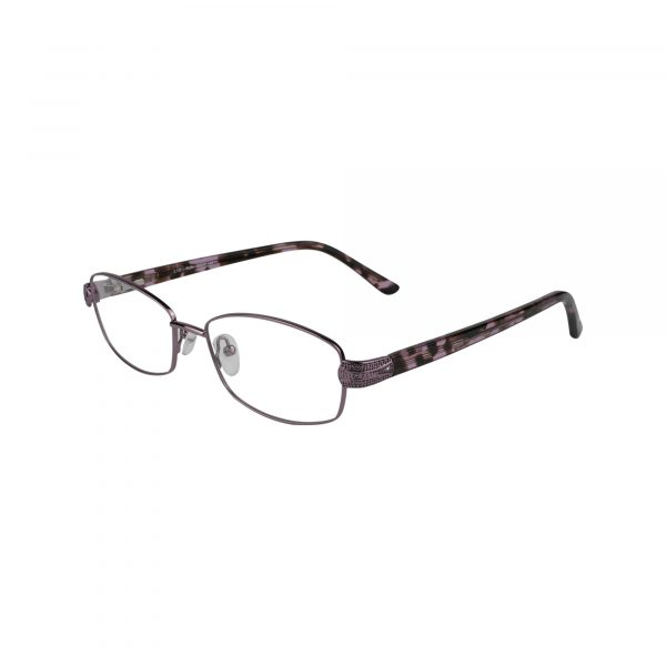 L132 Purple Glasses - Side View
