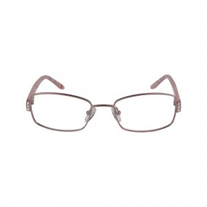 L120 Pink Glasses - Front View
