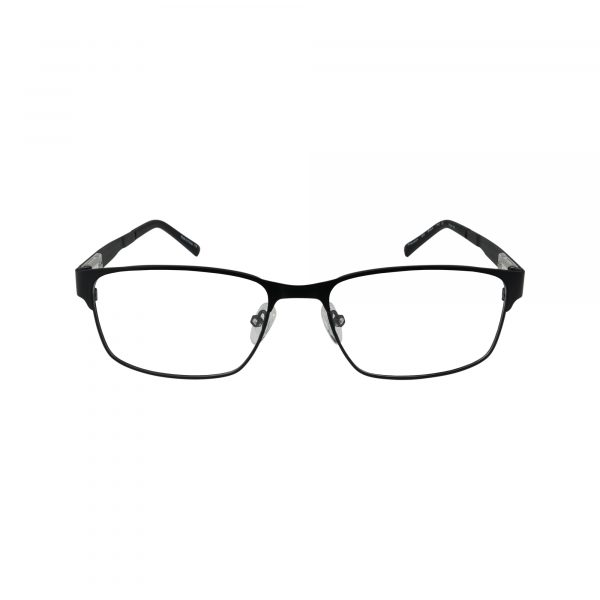 155 Black Glasses - Front View