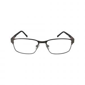 155 Gunmetal Glasses - Front View