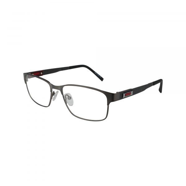 155 Gunmetal Glasses - Side View