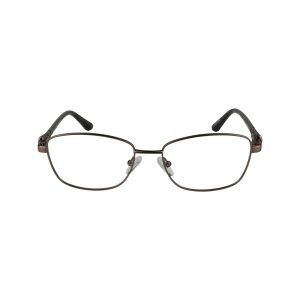 L124 Brown Glasses - Front View