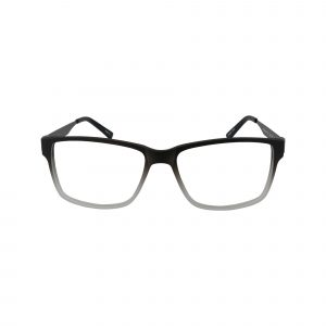412 Gunmetal Glasses - Front View