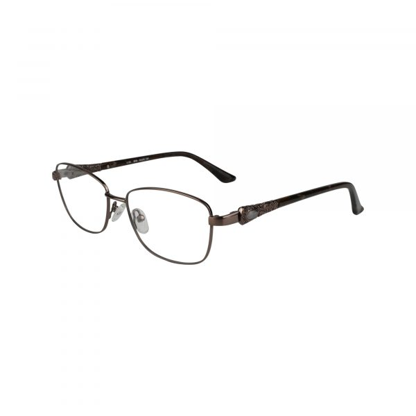 L124 Brown Glasses - Side View