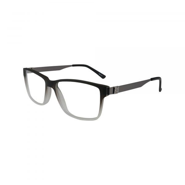 412 Gunmetal Glasses - Side View