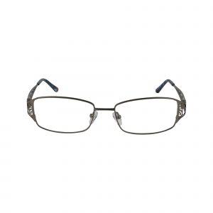 L110 Gunmetal Glasses - Front View