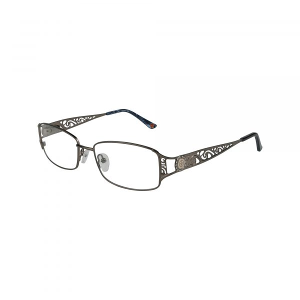 L110 Gunmetal Glasses - Side View