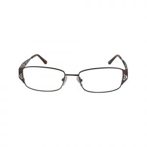 L110 Brown Glasses - Front View