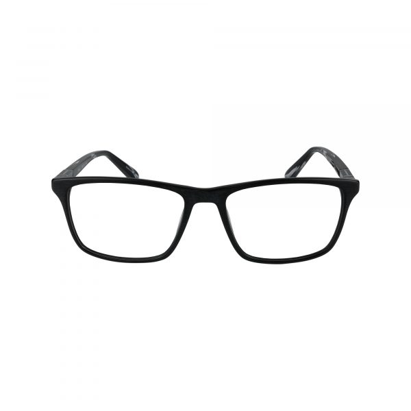 414 Black Glasses - Front View