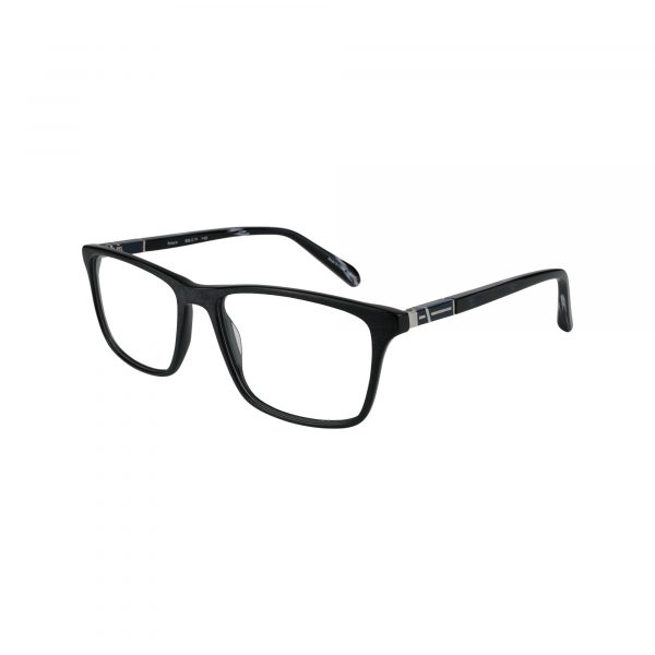 414 Black Glasses - Side View