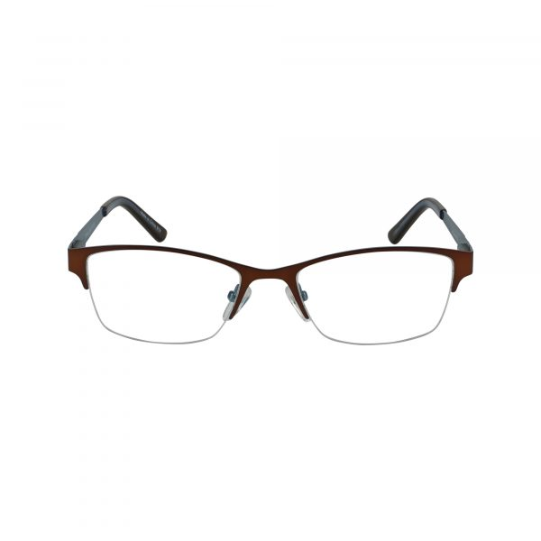 830 Brown Glasses - Front View
