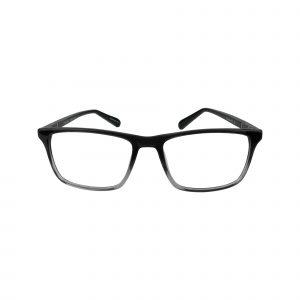 414 Gunmetal Glasses - Front View