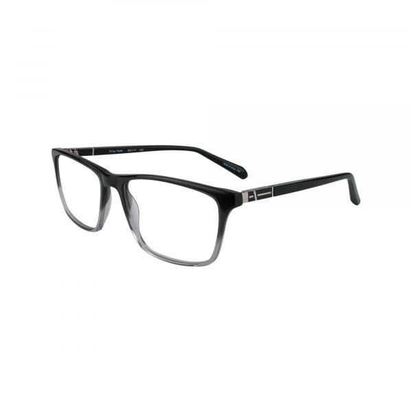 414 Gunmetal Glasses - Side View