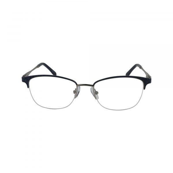 L856 Blue Glasses - Front View