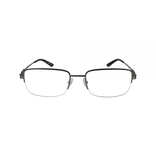 Twist Overbrook Gunmetal Glasses - Front View