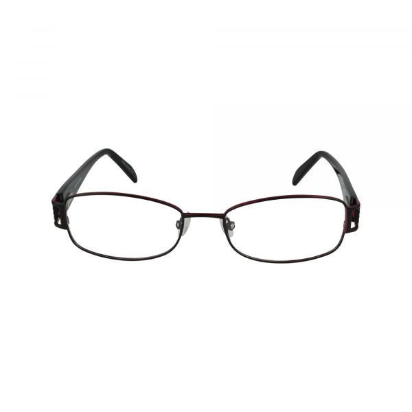 702 Black Glasses - Front View