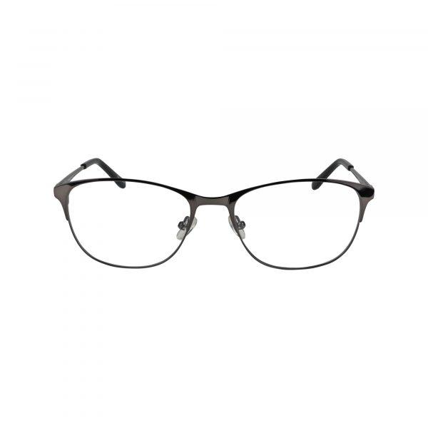 835 Gunmetal Glasses - Front View