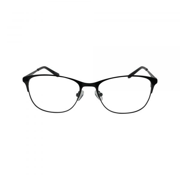 835 Black Glasses - Front View