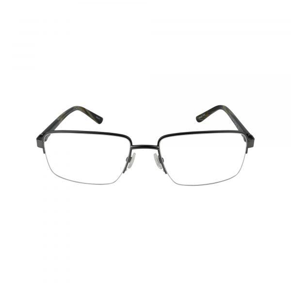 152 Gunmetal Glasses - Front View
