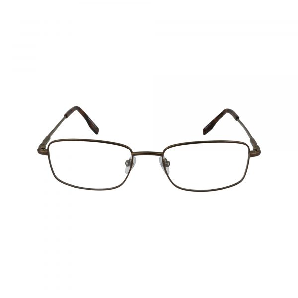 102 Brown Glasses - Front View