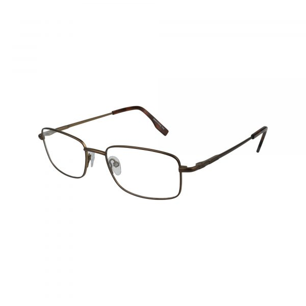 102 Brown Glasses - Side View